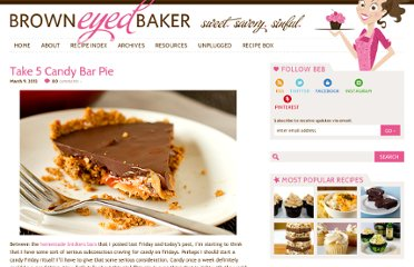 http://www.browneyedbaker.com/2012/03/09/take-5-candy-bar-pie/
