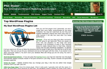 http://phillipjstone.com/top-wordpress-plugins/