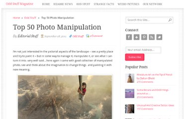 http://oddstuffmagazine.com/top-50-photo-manipulation.html