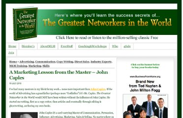 http://thegreatestnetworker.org/3267/a-marketing-lesson-from-the-master-john-caples/