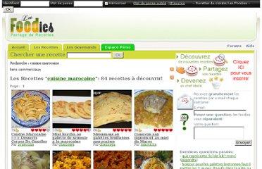 http://www.lesfoodies.com/advancedsearch/index.php?tag=cuisine+marocaine