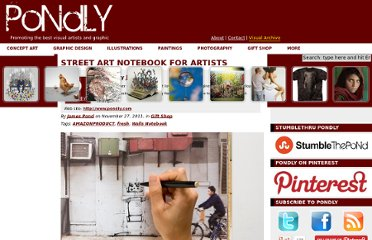 http://www.pondly.com/2011/11/street-art-notebook-for-artists/#more-7563