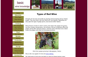 http://www.basic-wine-knowledge.com/types-of-red-wine.html