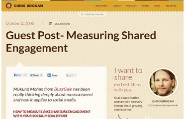 http://www.chrisbrogan.com/guest-post-measuring-shared-engagement/