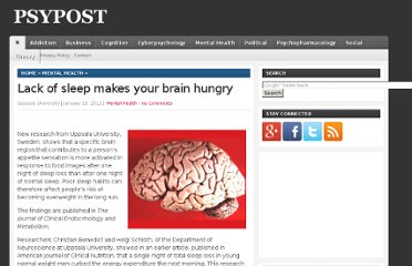 http://www.psypost.org/2012/01/lack-of-sleep-makes-your-brain-hungry-9189