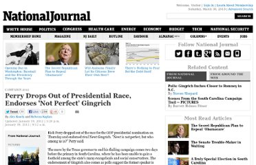 http://www.nationaljournal.com/2012-presidential-campaign/perry-drops-out-of-presidential-race-endorses-not-perfect-gingrich-20120119