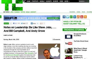 http://techcrunch.com/2010/03/14/notes-on-leadership-jobs-grove-campbel/