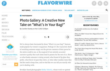 http://flavorwire.com/267019/a-fun-spin-on-whats-in-your-bag