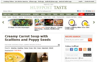 http://www.huffingtonpost.com/2011/10/27/creamy-carrot-soup-with-s_n_1058350.html