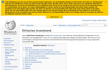 http://de.wikipedia.org/wiki/Ethisches_Investment