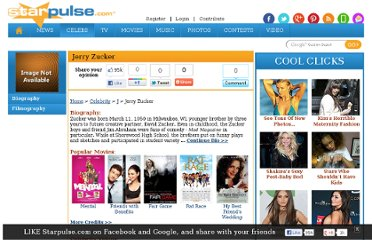http://www.starpulse.com/Celebrity/Jerry_Zucker-P118047/