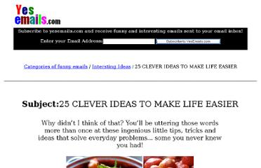 http://www.yesemails.com/interestingemails/25ideas/