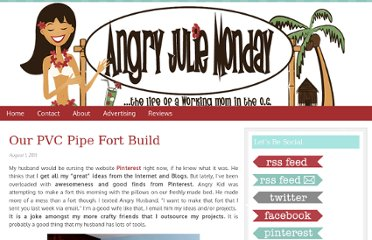 http://www.angryjuliemonday.com/2011/08/01/pvc-pipe-fort-tutorial/