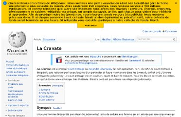 http://fr.wikipedia.org/wiki/La_Cravate