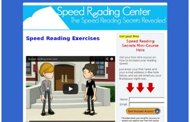 http://www.speedreadingcenter.com/speed-reading-exercises/