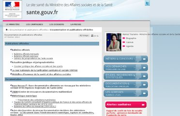http://www.sante.gouv.fr/documentation-et-publications-officielles.html