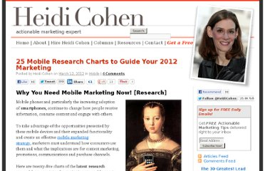 http://heidicohen.com/why-you-need-mobile-marketing-now-research/