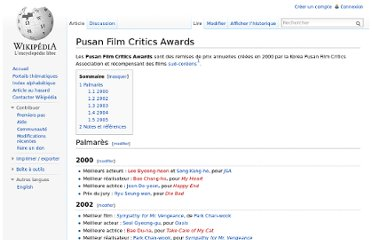 http://fr.wikipedia.org/wiki/Pusan_Film_Critics_Awards