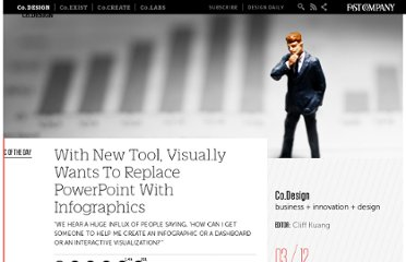 http://www.fastcodesign.com/1669241/with-new-tool-visually-wants-to-replace-powerpoint-with-infographics