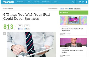 http://mashable.com/2012/03/12/ipad-business-functions/