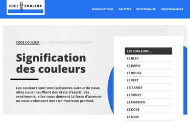 http://www.code-couleur.com/signification/index.html