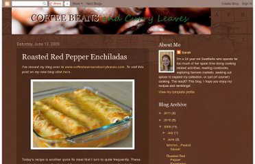 http://coffeebeansandcurryleaves.blogspot.com/2009/06/roasted-red-pepper-enchiladas.html