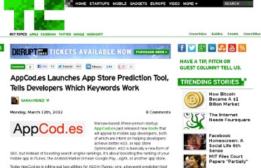 http://techcrunch.com/2012/03/12/appcod-es-launches-app-store-prediction-tool-tells-developers-which-keywords-work/