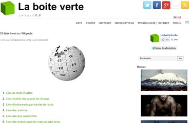 http://www.laboiteverte.fr/25-listes-a-voir-sur-wikipedia/