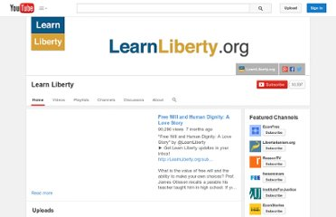 http://www.youtube.com/user/LearnLiberty