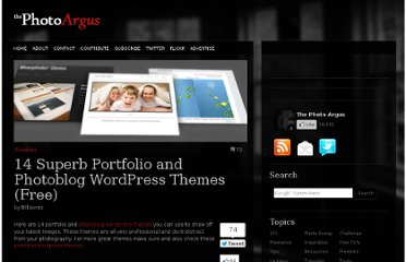 http://www.thephotoargus.com/freebies/14-superb-portfolio-and-photoblog-wordpress-themes-free/
