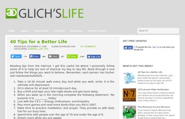 http://www.glennong.com/2009/04/40-tips-for-better-life.html