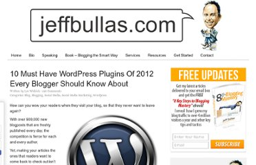 http://www.jeffbullas.com/2012/03/13/10-must-have-wordpress-plugins-of-2012-every-blogger-should-know-about/
