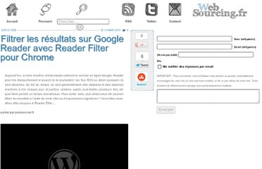 http://blog.websourcing.fr/ontheweb/filtrer-resultats-google-reader-avec-reader-filter-chrome/