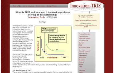 http://www.innovation-triz.com/papers/whatistriz.html