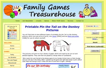 http://www.family-games-treasurehouse.com/printable_pin_the_tail_on_the_donkey.html