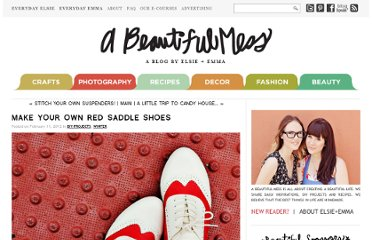http://abeautifulmess.typepad.com/my_weblog/2012/02/make-your-own-red-saddle-shoes.html