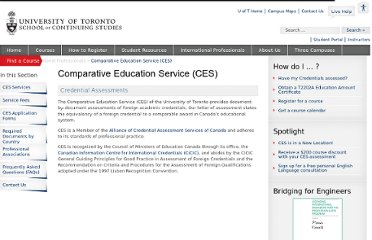 http://learn.utoronto.ca/international-professionals/comparative-education-service-ces
