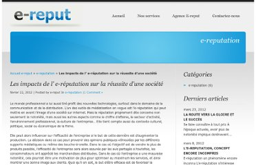 http://e-reput.com/les-impacts-de-l-e-reputation-sur-la-reussite-dune-societe/