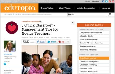 http://www.edutopia.org/blog/classroom-management-tips-novice-teachers-rebecca-alber
