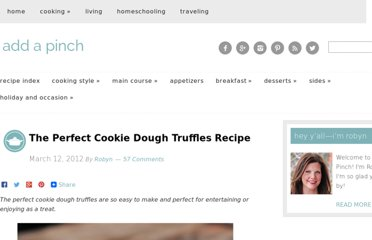 http://addapinch.com/cooking/2012/03/12/the-perfect-cookie-dough-truffles-recipe/