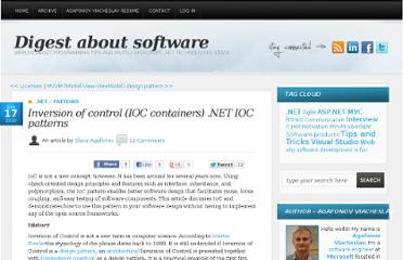 http://blog.agafonov.net.ua/post/2010/09/17/Inversion-of-control-%28IOC%29-NET-patterns.aspx