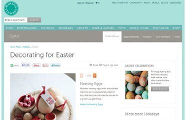 http://www.marthastewart.com/274530/decorating-for-easter