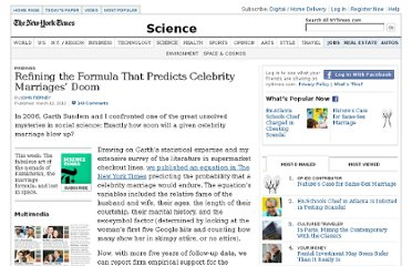 http://www.nytimes.com/2012/03/13/science/a-refined-formula-to-predict-doom-in-celebrity-marriages.html?pagewanted=all