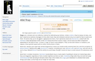 http://dwarffortresswiki.org/index.php/40d:Trap