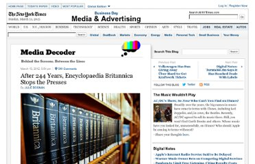http://mediadecoder.blogs.nytimes.com/2012/03/13/after-244-years-encyclopaedia-britannica-stops-the-presses/