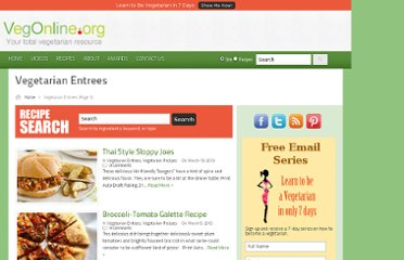 http://vegonline.org/category/vegetarian-entrees/page/3/