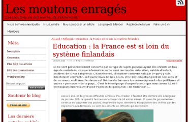http://lesmoutonsenrages.fr/2012/03/13/education-la-france-est-si-loin-du-systeme-finlandais/#more-22276