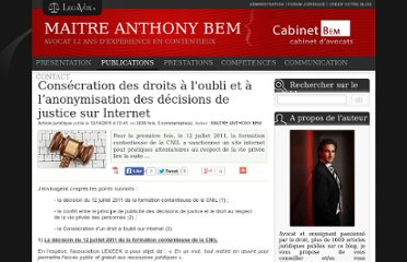 http://www.legavox.fr/blog/maitre-anthony-bem/consecration-droits-oubli-anonymisation-decisions-6655.htm