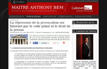 http://www.legavox.fr/blog/maitre-anthony-bem/repression-provocation-internet-code-penal-7131.htm
