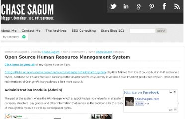 http://chasesagum.com/open-source-human-resource-management-system
